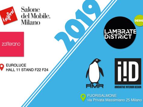Invito a Milano - Salone del Mobile 2019 e Fuorisalone.