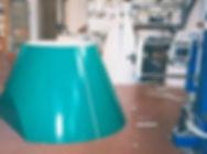 Stampo conico in polistirolo per l'edilizia