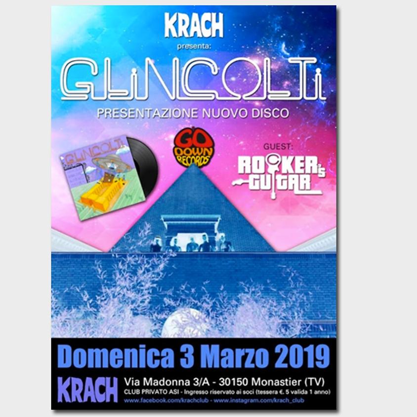 Glincolti release party @ Krach Club
