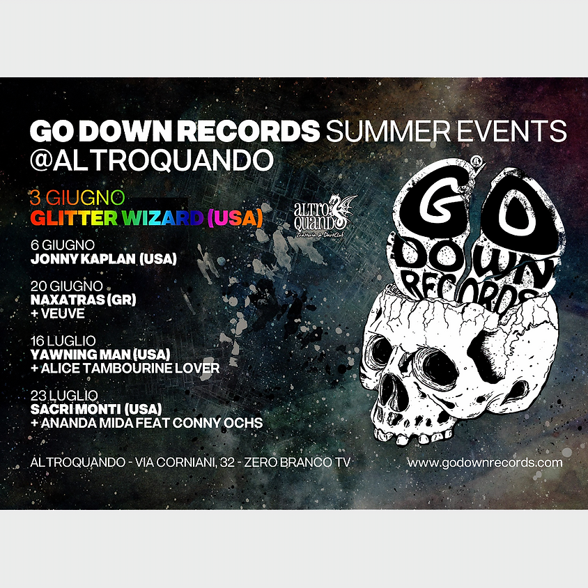 Glitter Wizard (US) | Go Down Records Summer Events