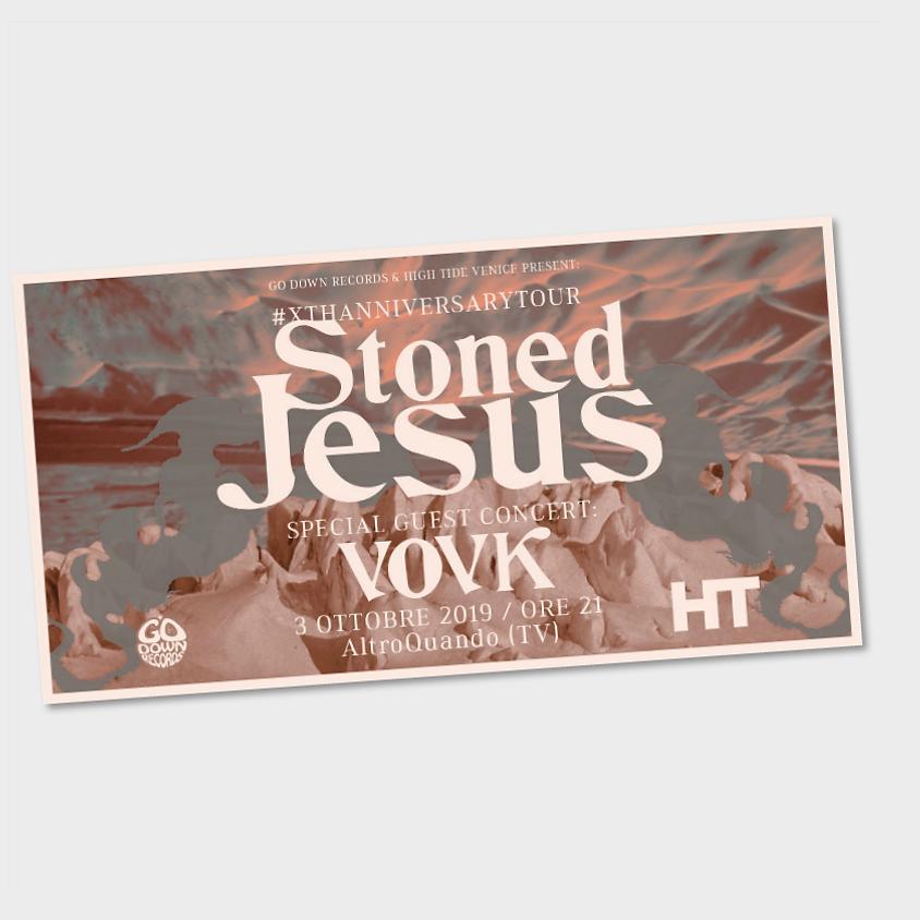 Stoned Jesus (UA) + VOVK (UA)