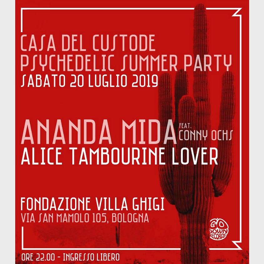 Casa del Custode Psychedelic Summer Party
