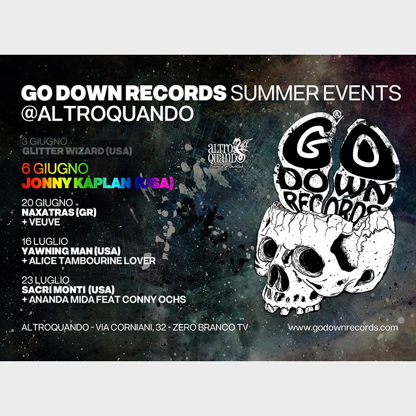 Jonny Kaplan (US) | Go Down Records Summer Events