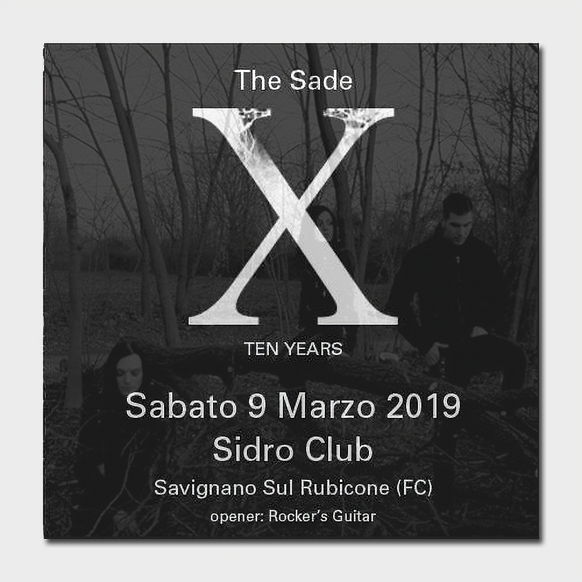 The Sade - 10 years party
