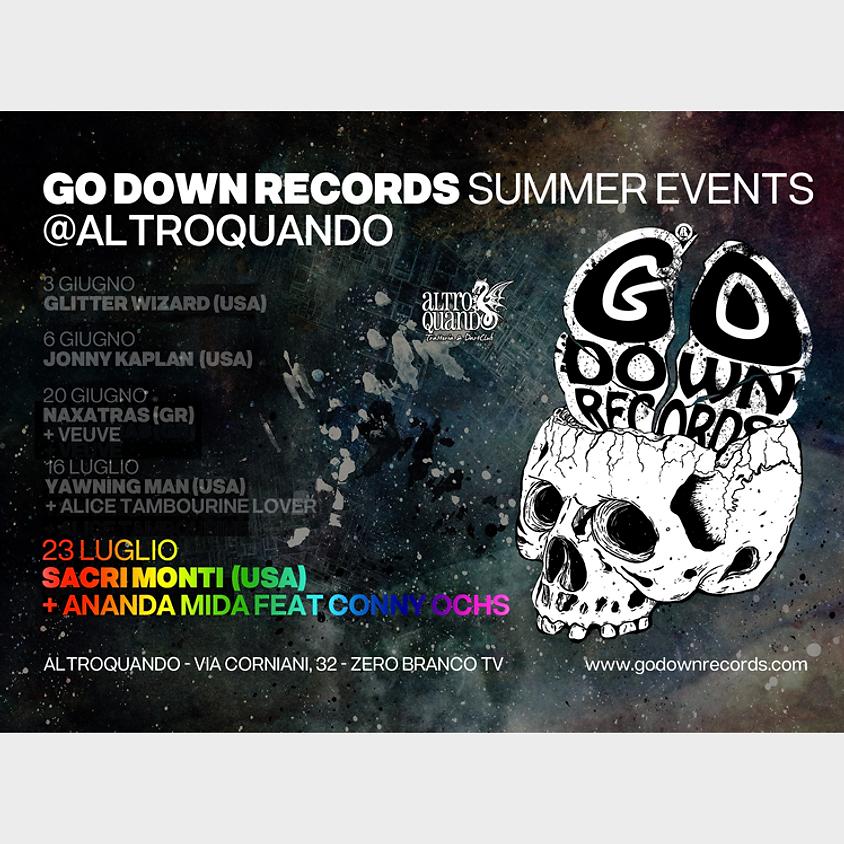 Sacri Monti (US) | Go Down Records Summer Events