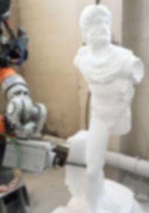 Amr Recchia, statua in eps