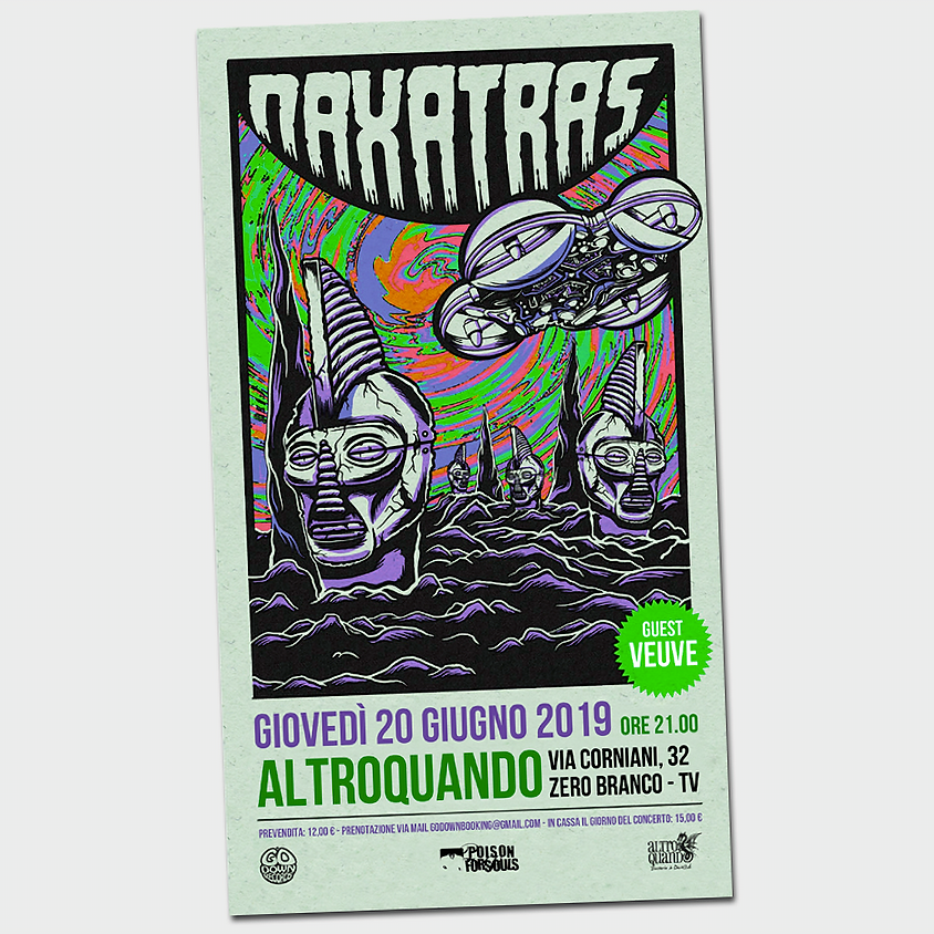 Naxatras (GR)   Go Down Records Summer Events