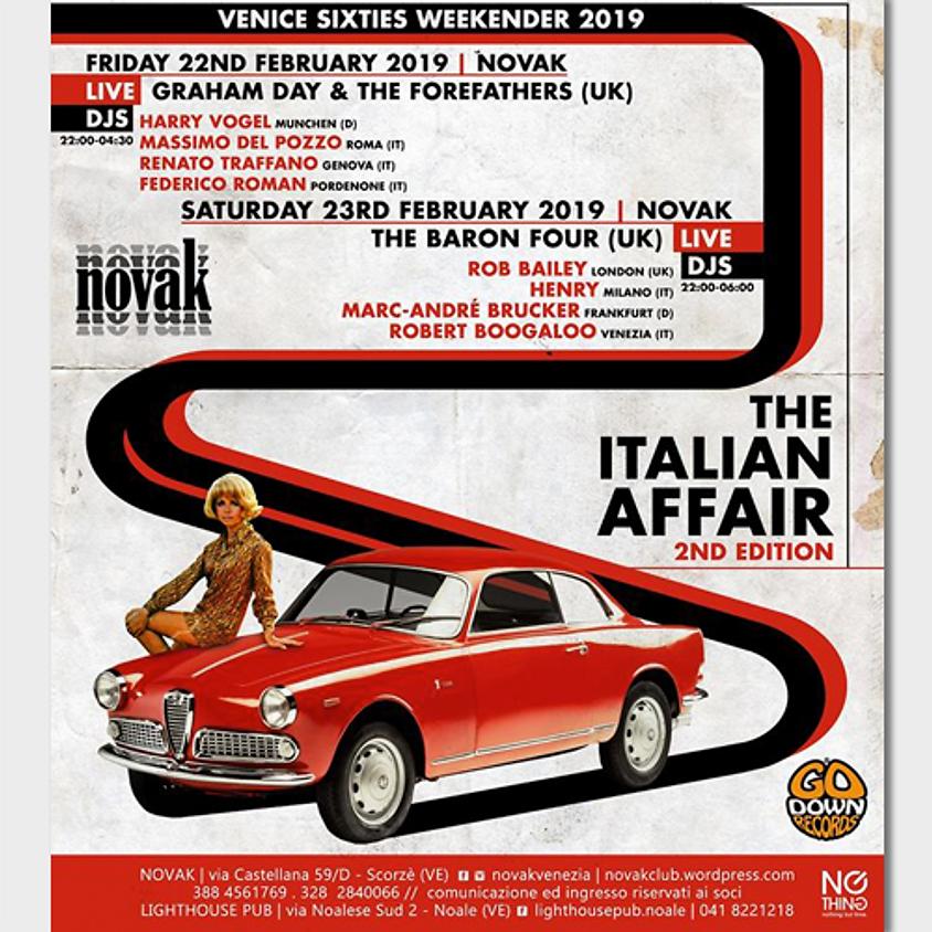 The Italian Affair   Venice Sixties Weekender