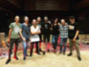 Ananda Mida band, Daniel Grego, Yawning Man band at Teatro delle Voci Studios
