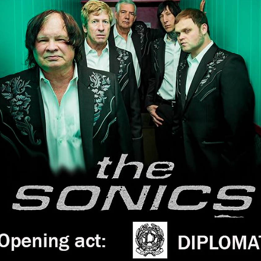 The Sonics (US) + Diplomatics (ITA)