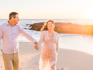 Kim + Jon {Laguna Beach Maternity Session}