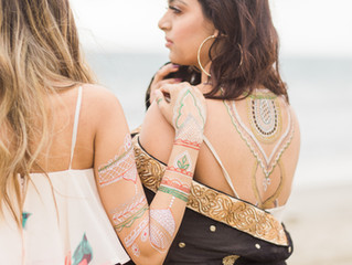 {Collab} Beach Shoot with Unrivaled Henna