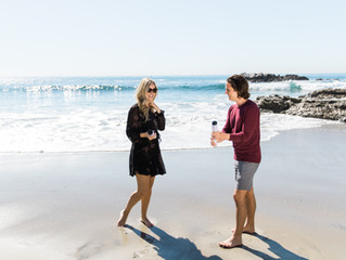 {Danielle + Brandon} Laguna Beach Gender Reveal