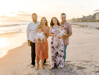 San Clemente Family Session at Calafia Beach