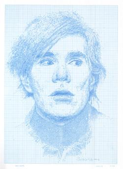 "Circlism Portrait Series, 18""x22"", 2016"