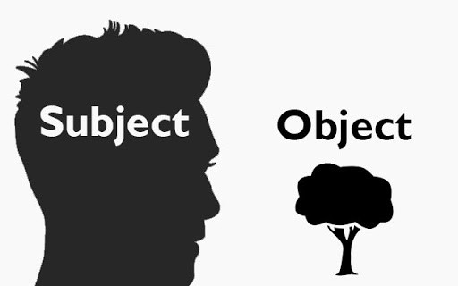 Subject and object pronoun