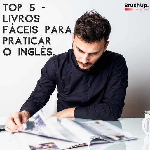 Top 5: Livros fáceis para praticar o Inglês e ganhar vocabulário.