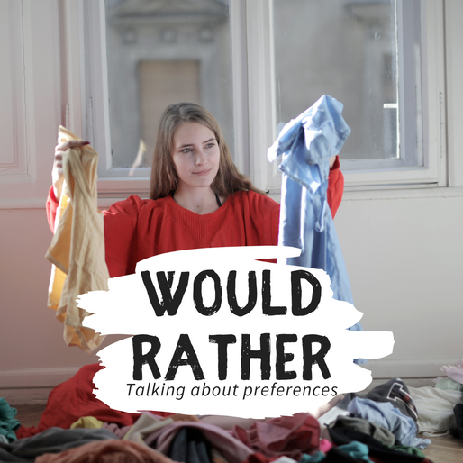 Como usar o Would Rather? – Talking about preferences in English