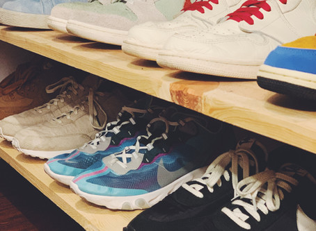 New Year's Resolutions for Sneakers