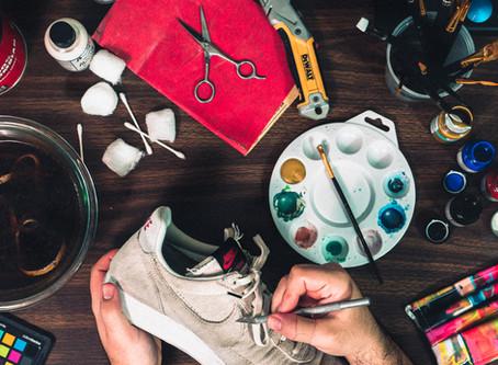 DIY Sneaker Customs