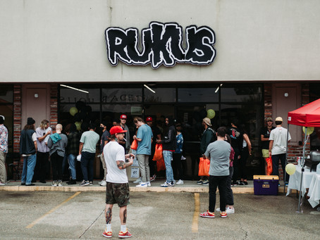 Rukus Skateshop Celebrates 20 Year Anniversary With Grand Reopening
