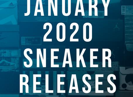 January 2020 Sneaker Releases
