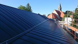 Rekonštrukcia strechy ZŠ Podunajské Biskupice
