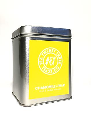 TEA CADDIE (CHAMOMILE + PEAR)