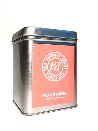 TEA CADDIE (PEACH GREEN TEA)