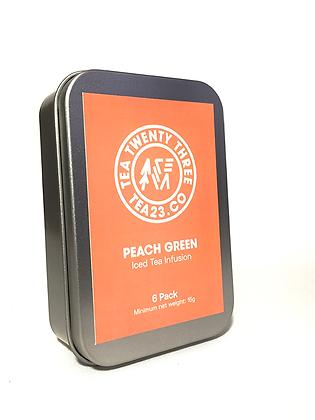 PEACH GREEN (6 pack)