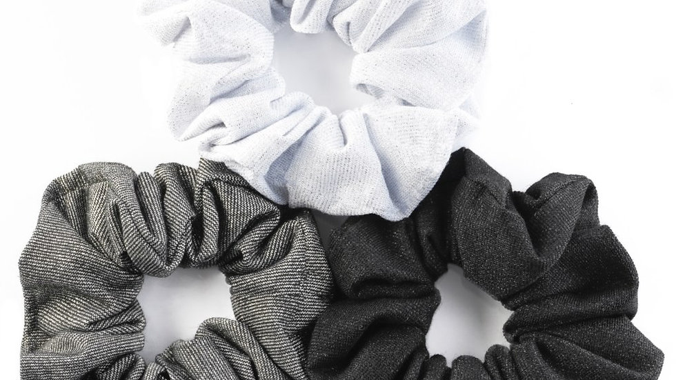 Topknot Scrunchies - 3pk