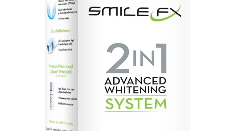 2 in 1 At Home Advanced Teeth Whitening Kit