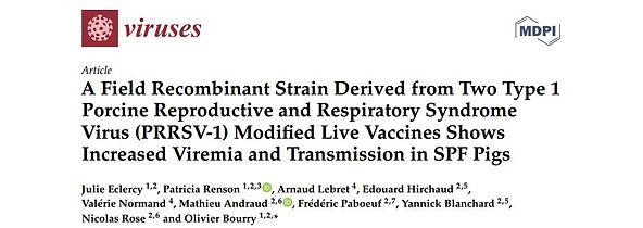Eclercy et al., 2019 - SDRP field Recomb