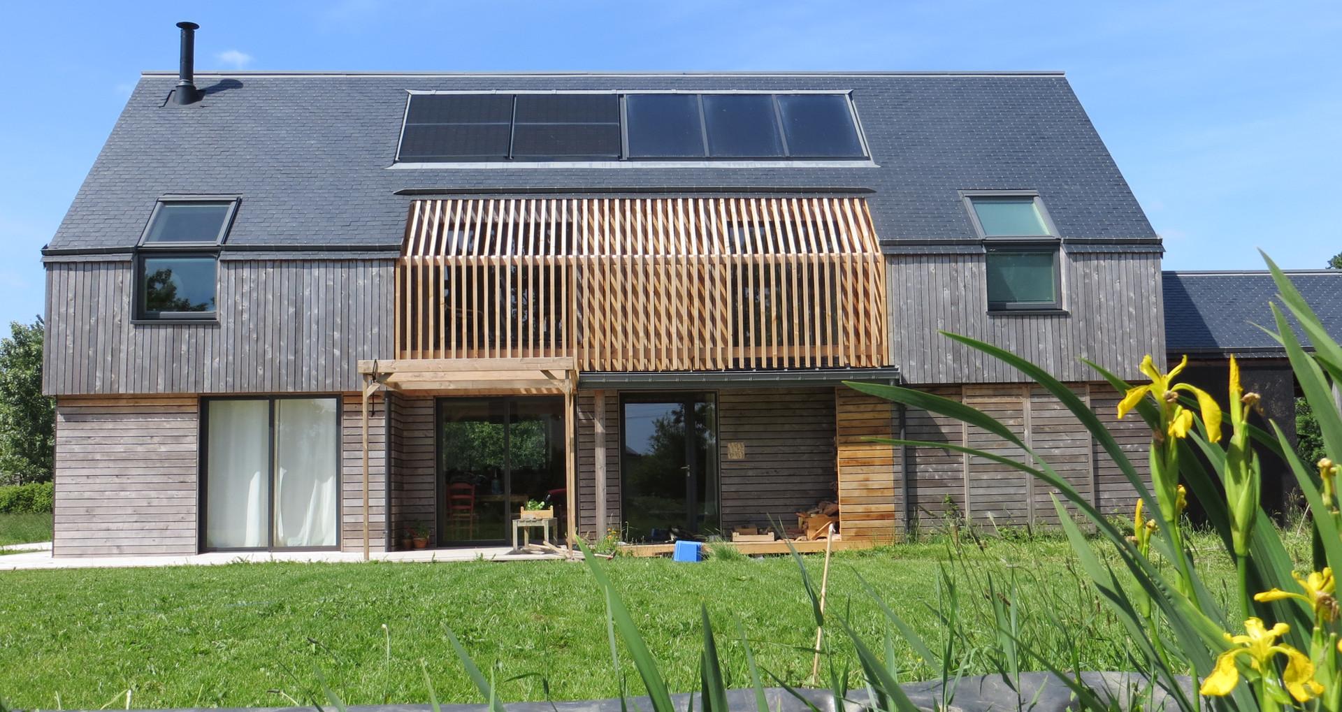 Maison 150 m2,  chauffage + électricité + cuisine = 35€/mois