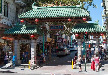 China Town San Francisco. Jacob A. Brinnand.