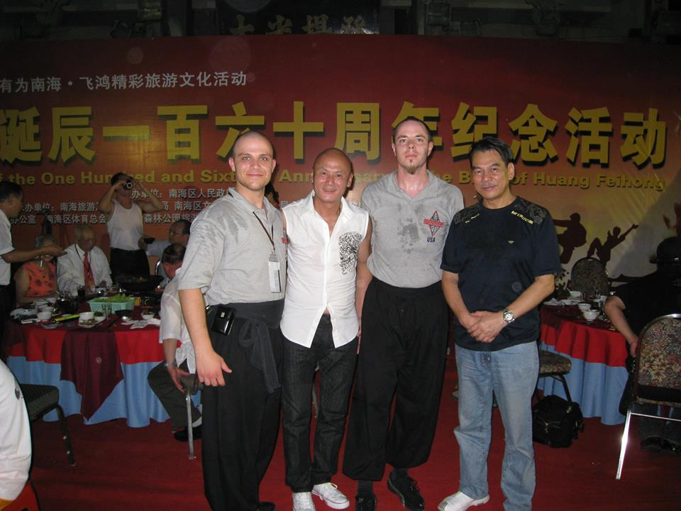 With Shaw Brothers Movie Stars.