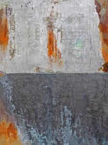 4.Graphite Metallic Rust Grid Sold