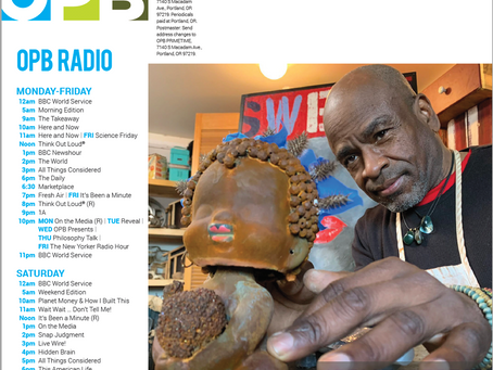 Coming in Early 2021 on Oregon Public Broadcasting: Art Beat with Willie Little