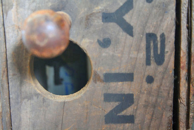 Dissed porthole view