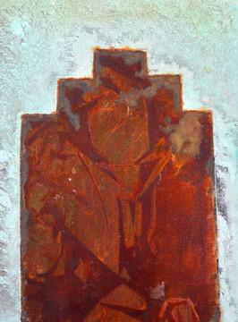04 Juke Joint 2 d Shack Rust Deco Shape