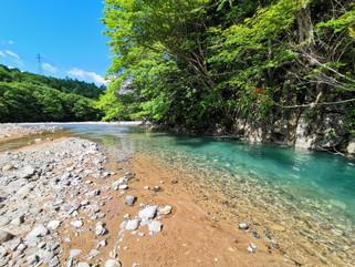 これぞ正に絶景!岩手県八幡平市、松川渓谷もりのおおはし付近の夏!