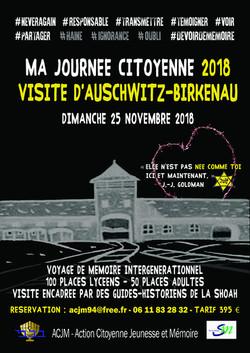Journée citoyenne à Auschwi-Birkenau