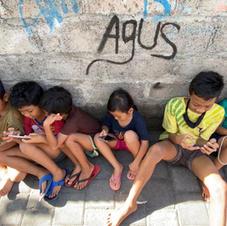 children on the street