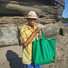 A beach watch in Tabanan