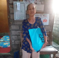 a grandmother in Tabanan
