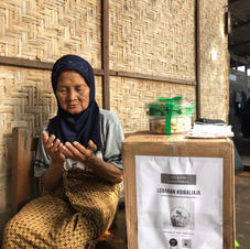 70 years old at least, live alone in Denpasar
