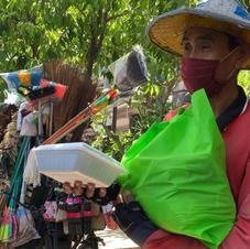 People we met on the street of Denpasar