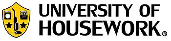 University of Housework Logo V1.15 BKGD