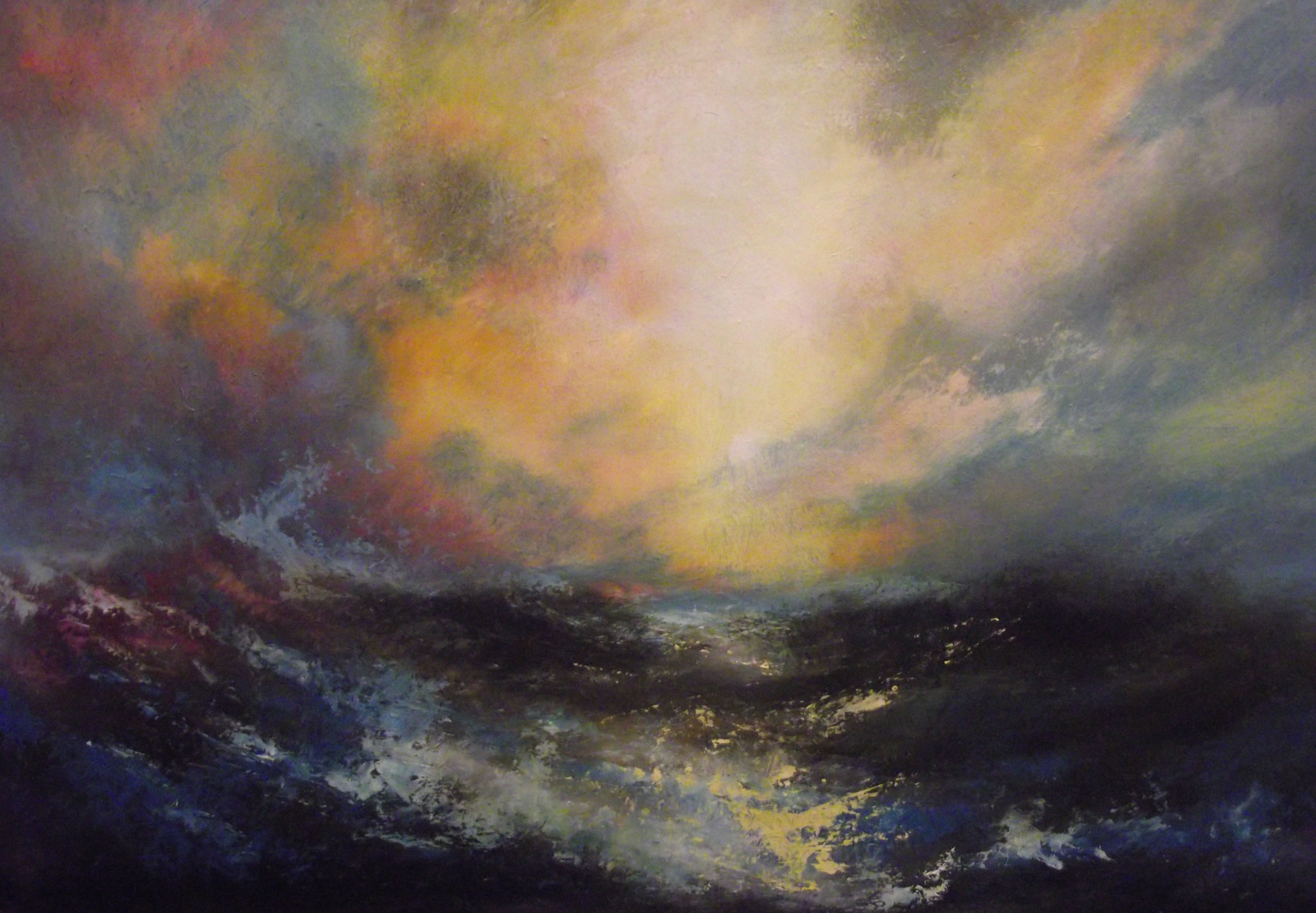 Storm Clouds Are Born (Sold)