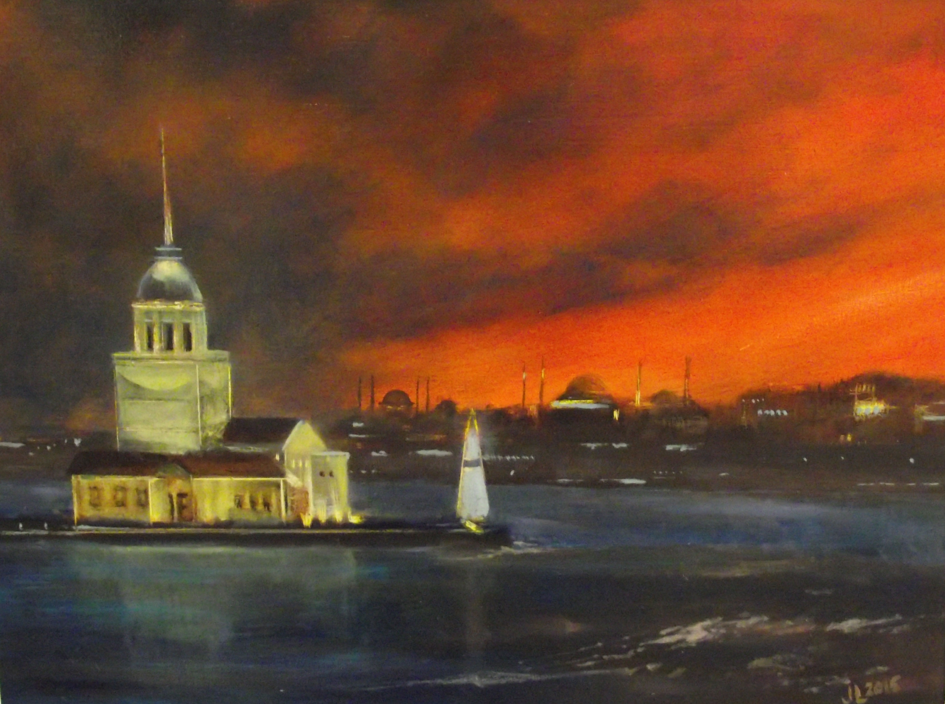 Maiden's Tower (Sold)